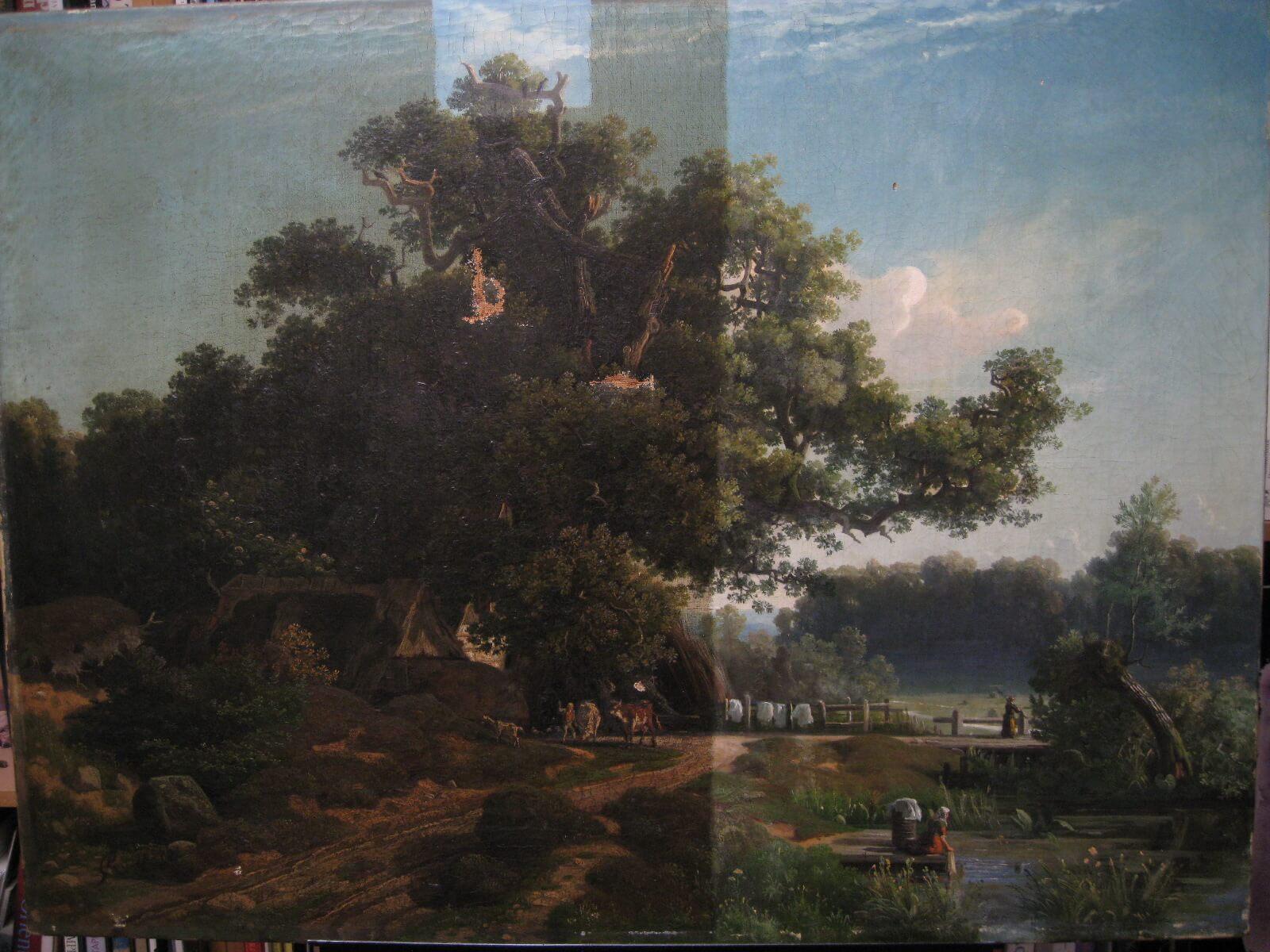 Top Gemäldereinigung | Gemäldereinigung in Berlin IQ47