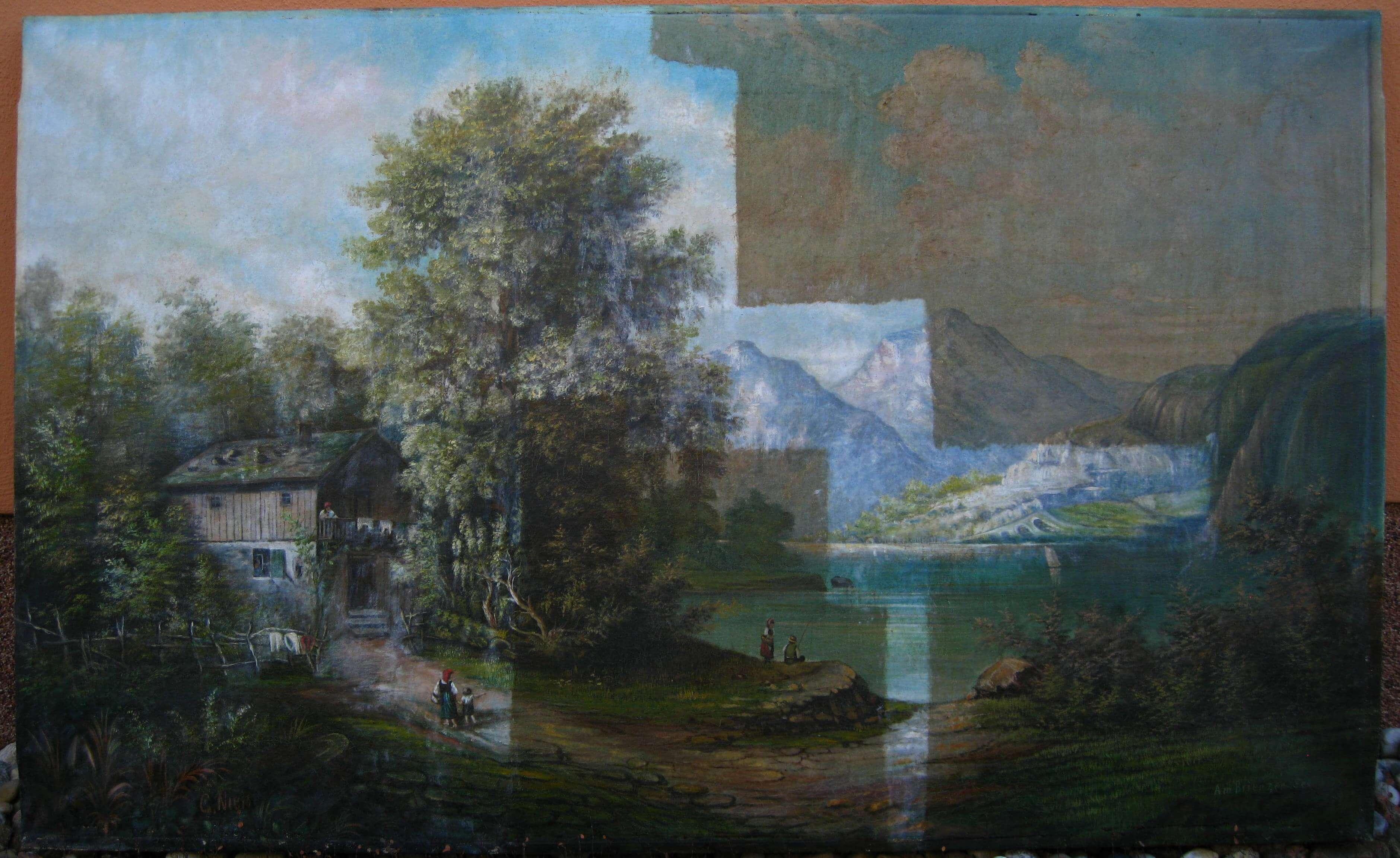 Turbo Gemäldereinigung | Gemäldereinigung in Berlin IV75